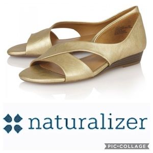 Naturalized Gold Sandals -Jazzy